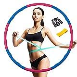 Aogist Hula Hoop Reifen Erwachsene Fitness SlimHoop zur Gewichtsreduktion Abnehmbare...