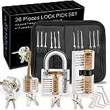 Dietrich Set, Preciva 26 tlg. Lockpicking Set Generalschlüssel-Systeme mit für...