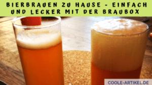 Bier brauen IPA mit dem Braubox