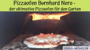Pizzaofen Burnhard Nero